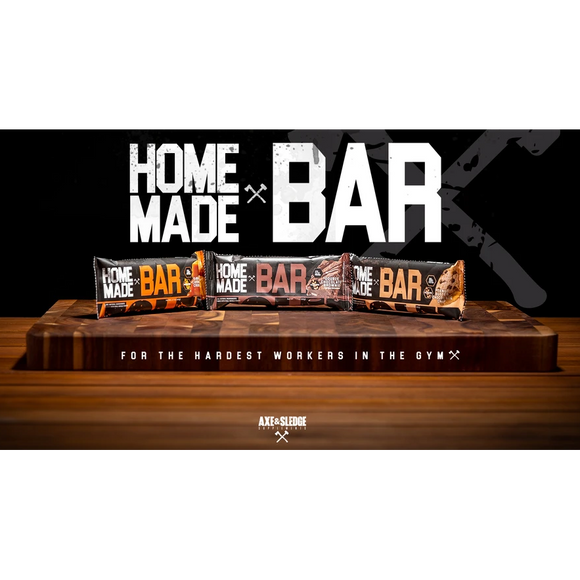 HOME MADE BAR- PROTEIN BARS | AXE & SLEDGE | Any Body Supplements