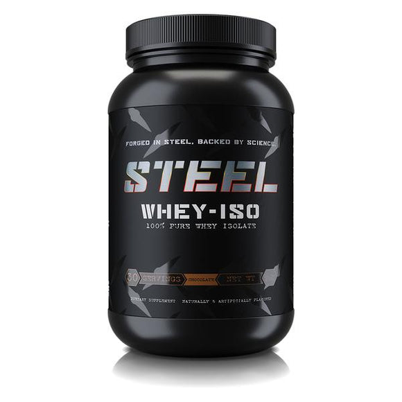 Steel Supplements WHEY-ISO Pure Whey Isolate