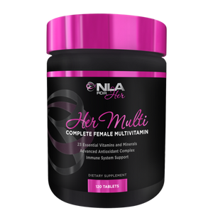 NLA for Her, Her Multi Complete Female Multivitamin Tablets, 12 Ct | NLA FOR HER | Any Body Supplements