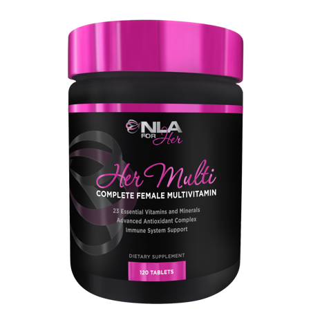 NLA for Her, Her Multi Complete Female Multivitamin Tablets, 120 Ct