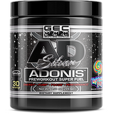 GEC ADONIS SILVER PREWORKOUT SUPER FUEL, 30 SERV-PRE WORKOUT-Any Body Supplements