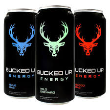 BUCKED UP ENERGY DRINKS