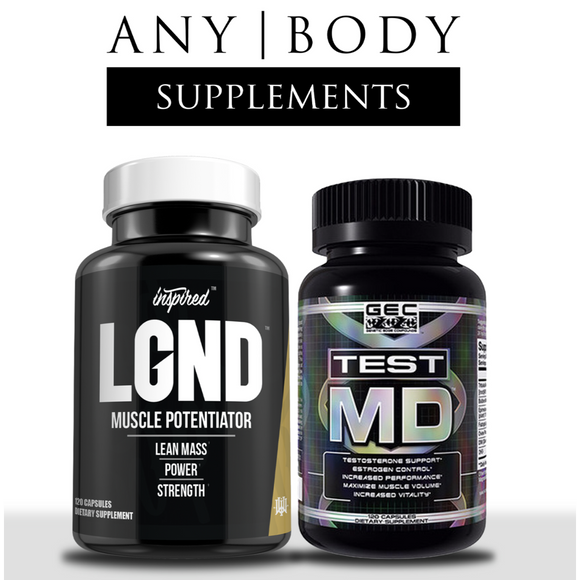 Men's Muscle Building Stack | Custom Bundle | Any Body Supplements