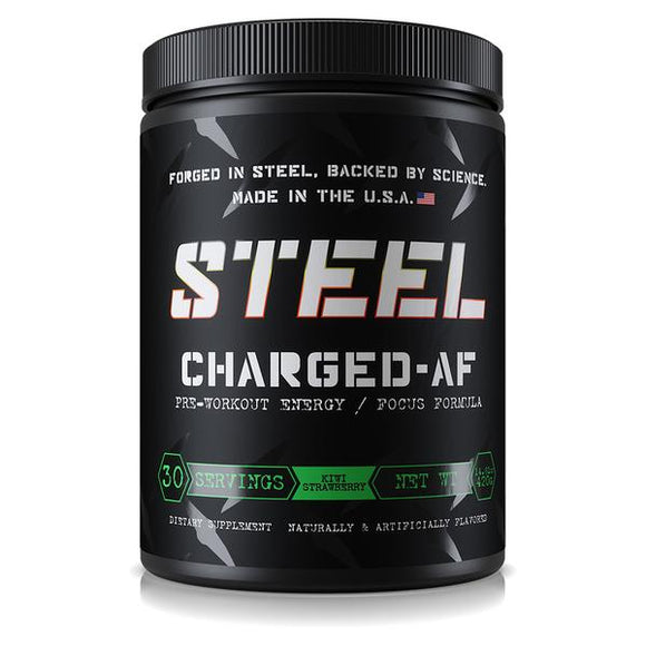 Steel Supplements Charged-AF, 30 servings