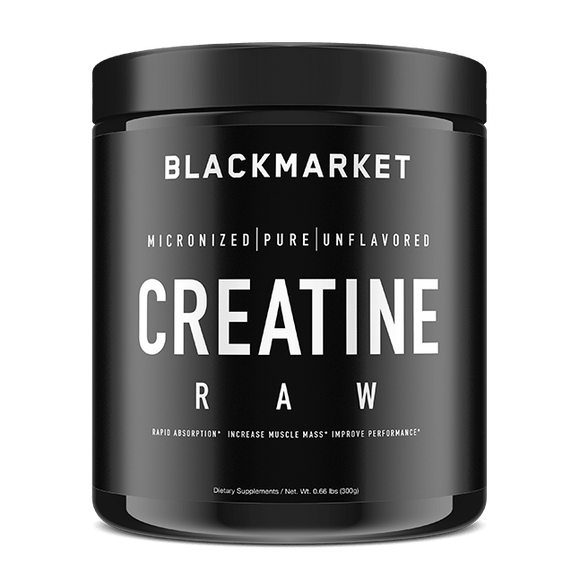 Blackmarket Labs. RAW CREATINE MONOHYDRATE