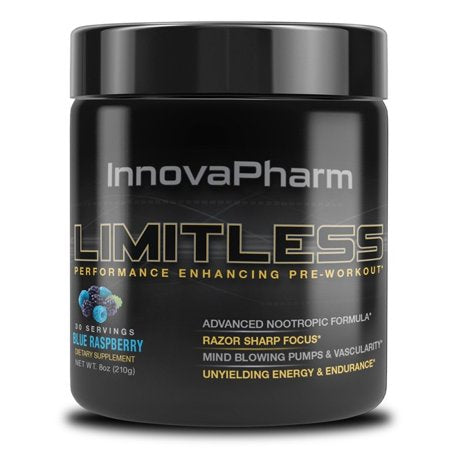 Innovapharm Limitless Pre Workout 3 Servings - Intense Focus | INNOVAPHARM | Any Body Supplements