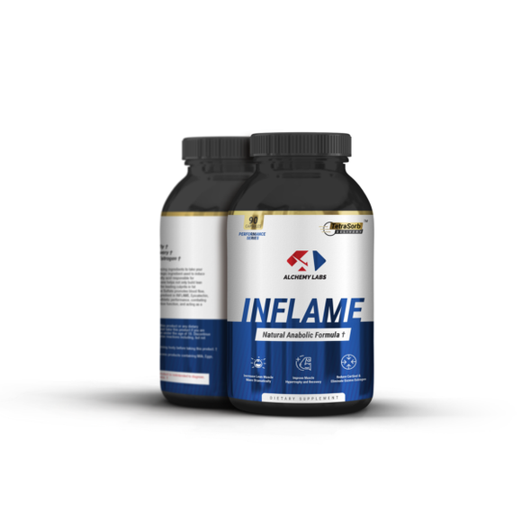 ALCHEMY LABS INFLAME- NATURAL MUSCLE BUILDER
