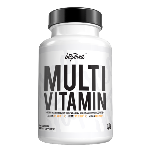 Vegan Multivitamin | INSPIRED NUTRACEUTICALS | Any Body Supplements