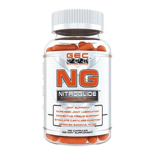 GEC NG NITROGLIDE JOINT AND TISSUE SUPPORT, 12 CT | GENETIC EDGE COMPOUNDS | Any Body Supplements