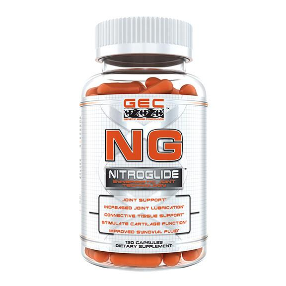 GEC NG NITROGLIDE JOINT AND TISSUE SUPPORT, 120 CT