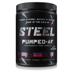 Steel Supplements Pumped-AF Pre Workout