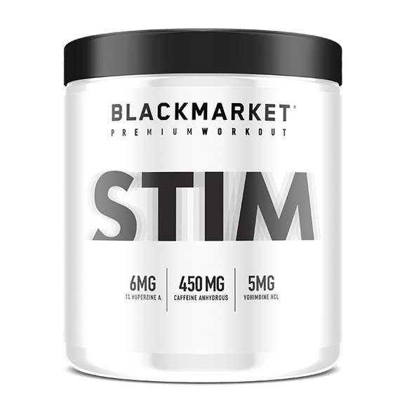 Blackmarket Labs STIM: PRE-WORKOUT | BLACKMARKET LABS | Any Body Supplements