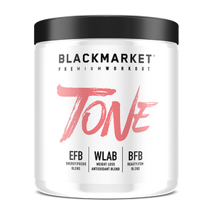 BLACKMARKET LABS -FIERCE TONE Pre Workout-PRE WORKOUT-Any Body Supplements