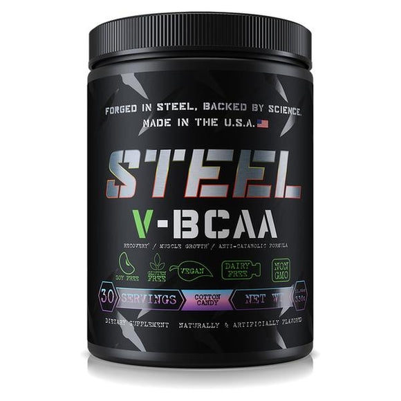 Steel Supplements V-BCAA | VEGAN | STEEL SUPPLEMENTS | Any Body Supplements