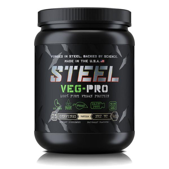 Steel Supplements VEG-PRO Pure Vegan Protein