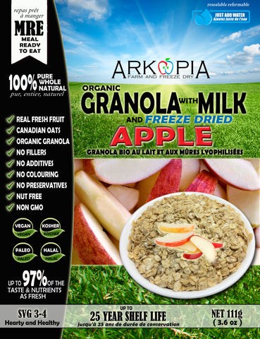 Milk and Granola with Apple MRE - Coming Soon