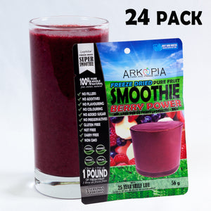 BERRY POWER - 24 PACK (only $6.99/smoothie) Free Shipping - regular $7.99/smoothie