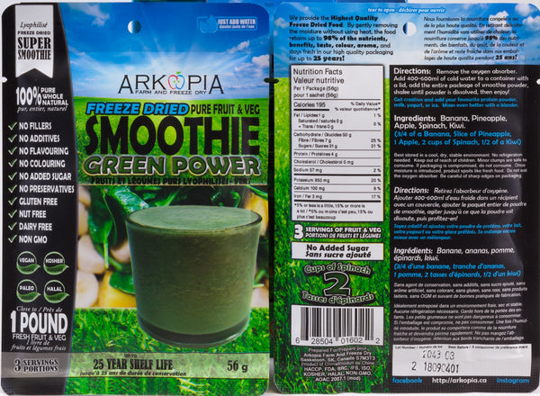 VARIETY 3 PACK - *BEST SELLER* - ($7.99/smoothie + $6 shipping included)