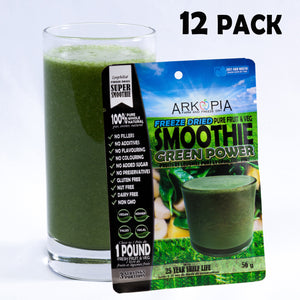 GREEN POWER - 12 PACK - ($6.99/smoothie) - FREE SHIPPING - regular $7.99/smoothie