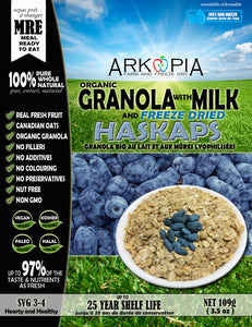 Milk and Granola with Haskaps MRE - Coming Soon