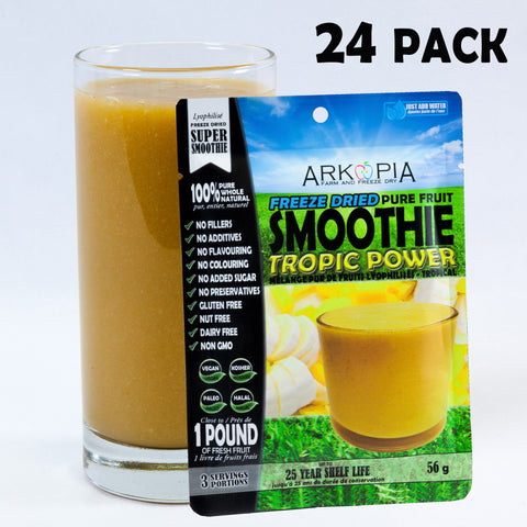 TROPIC POWER - 24 PACK (only $6.99/smoothie) Free Shipping - regular $7.99/smoothie