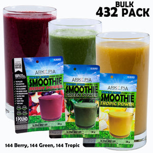 BULK 432 PACK - (only $6.49/smoothie) - Free Shipping - regular $7.99/smoothie