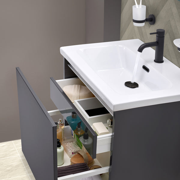Matt Black Range of Taps and Accessories
