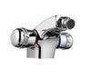Vega monoblock bidet mixer with pop up waste, LP 0.2 [V16613]