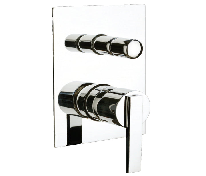 Concealed shower mixer with diverter, HP 1 - Tapron
