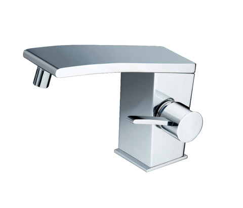 Single lever bidet mixer with pop-up waste, HP 1 [WIN213]