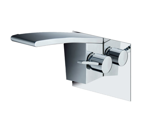 Single lever basin mixer, wall mounted, HP 1 [WIN231]