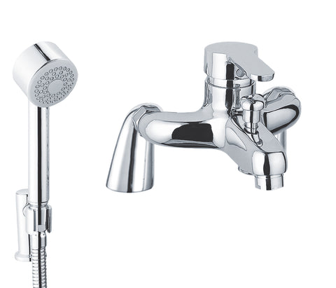 opal-mounted-single-lever-bath-and-shower-mixer-with-kit-15119n