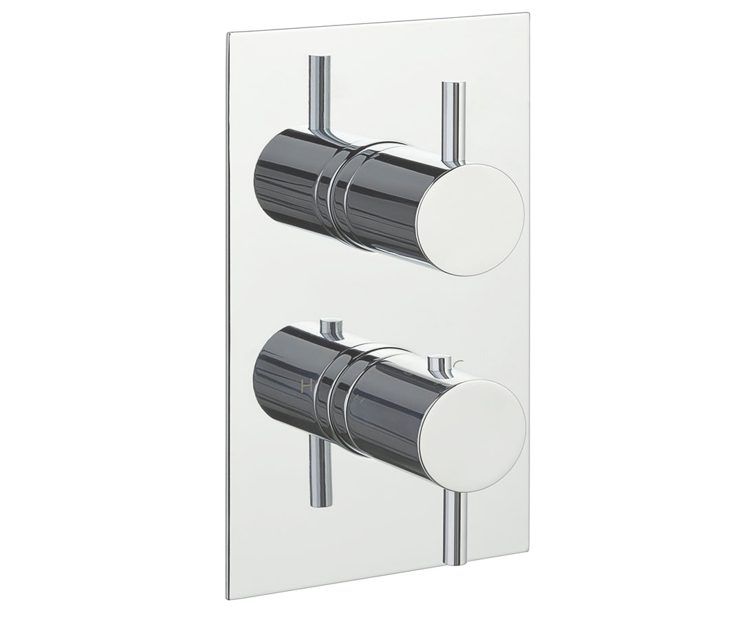 Eos Thermostatic 1 Outlet Shower Valve - Vertical - Tapron