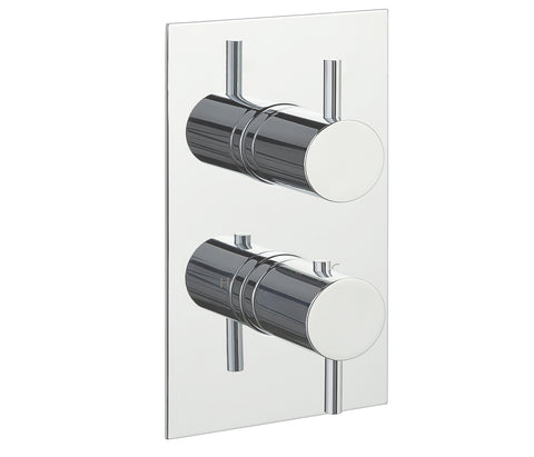 Eos Thermostatic 1 Outlet Shower Valve - Vertical [15651A]