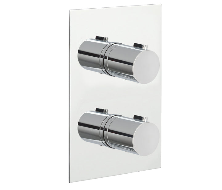 Eos Thermostatic 2 Outlet Shower Valve - Tapron