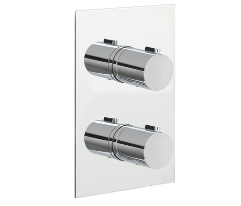 Eos Thermostatic 2 Outlet Shower Valve [15671A]