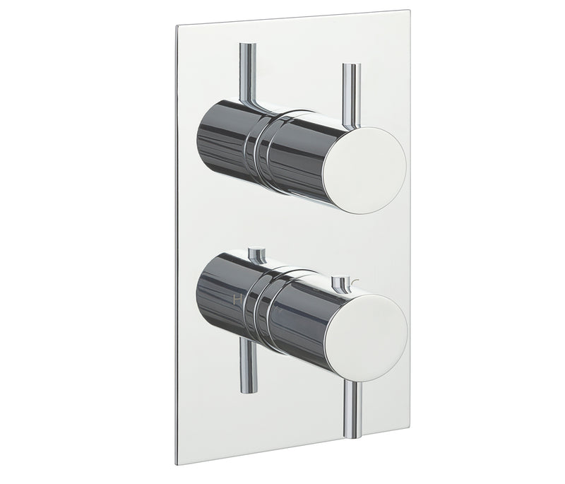 Eos Thermostatic 3 Outlet Shower Valve - Tapron