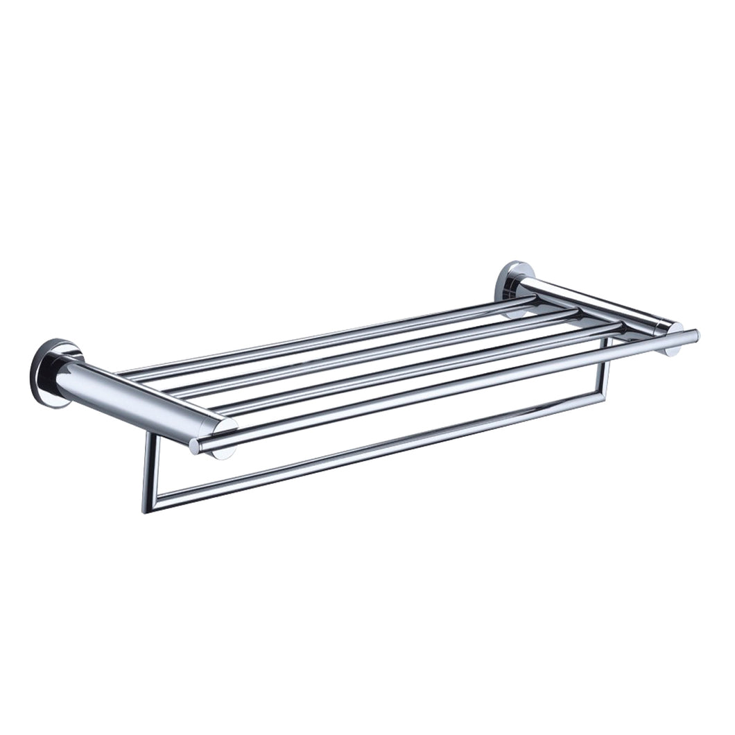 Cora Towel Shelf with Bar - Tapron