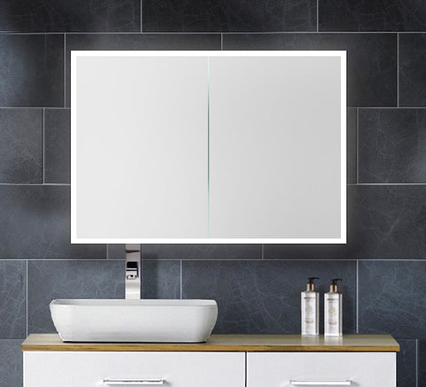 LED Mirror Cabinet Double Door [TRVS800]