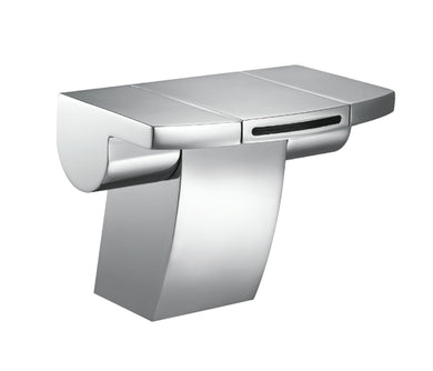 Flow Monoblock Basin Mixer with Click Clack Waste - Tapron
