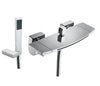 Aruna Wall Mounted Bath Shower Mixer with Kit  [43267]