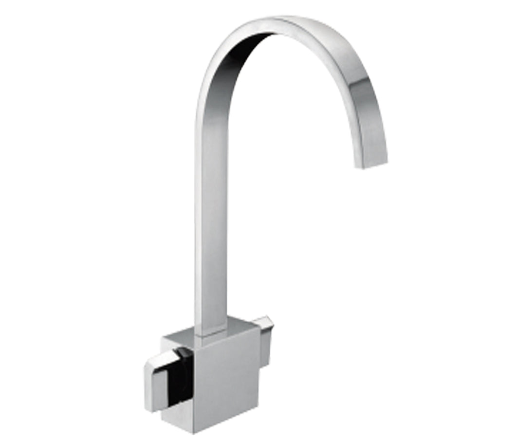Monoblock Basin Mixer with Click Clack Waste