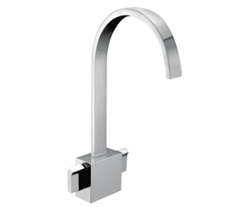 Major Monoblock Basin Mixer with Click Clack Waste [45181]