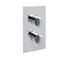 Major Concealed Thermostatic 2 Outlet Shower Valve - Vertical [45671]