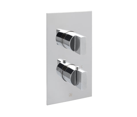 Major Concealed Thermostatic 3 Outlet Shower Valve  Vertical [45681]