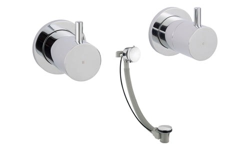 Florence Wall Mounted Valves with Exofill - Tapron