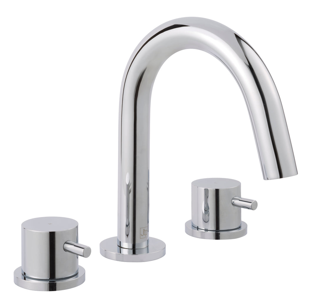 Florence 3 Hole Deck Mounted Basin Mixer - Tapron