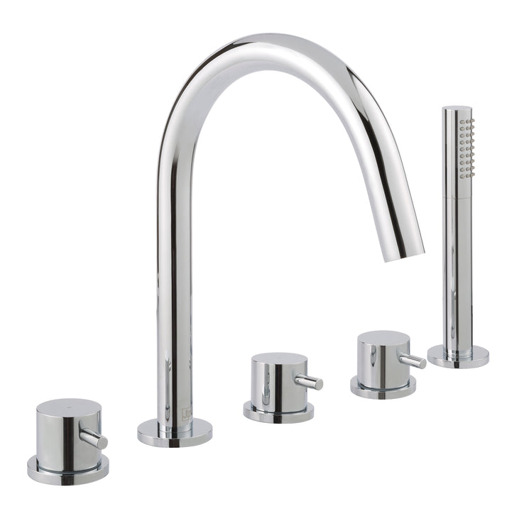 Florence 5 Hole Bath and Shower Mixer - Tapron