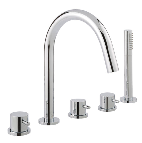 Florence 5 Hole Bath and Shower Mixer [55277]