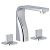 Luna 3 Hole Basin Mixer [72191]